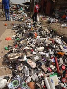 Recycling und Verkauf des Mülls