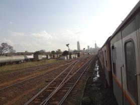 Abfahrt in Nairobi