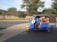 Tuktuk leicht voll