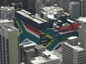 Südafrika-Gebäude :)