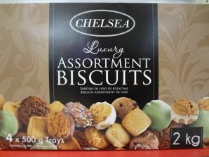 Es geht auf Weihnachten zu und in den Supermärkten gibt es überall die 2 kg Kekspackungen. Sehr nahrhaft.