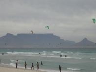 Aussicht auf den Tafelberg vom Blouberg Strand