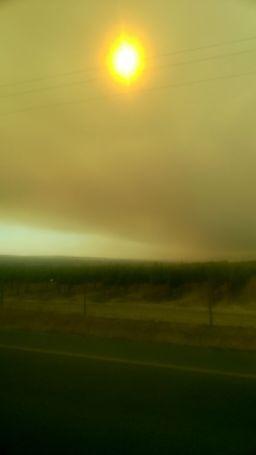 Waldbrand, Licht aus
