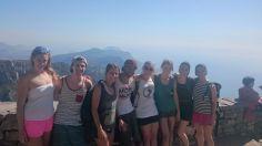 Tafelberg mit den Besuchern erfolgreich gemeistert