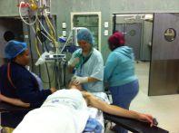 Erste Woche: Anästhesie