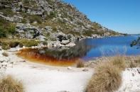 Auch beim dritten Mal Tafelberg einfach ein unglaublich erfrischender Anblick, der See auf dem Tafelberg