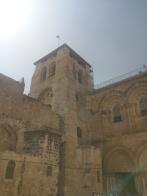 Die Grabeskirche in der Altstadt, hier wurde Jesus angeblich beerdigt.