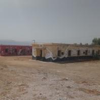 Zwischen Bushaltestelle und Strand, hier befand sich mal ein Wasserpark, jetzt ist alles verlassen.