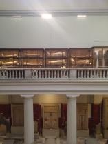 Im Hauptraum des Museums