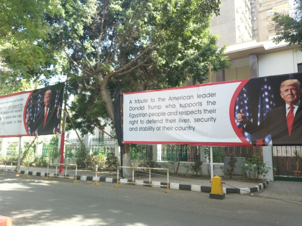 Vor der US-Botschaft