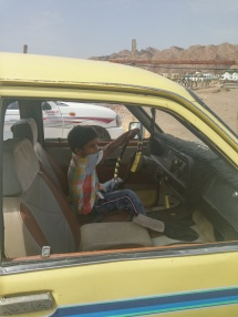 ... bis alle ausgestiegen sind, dann ist es sein Auto!